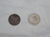 Část mincí, nalezených v orchestrionu (Rakousko-Uhersko a Československo)