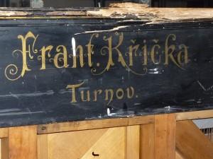 František Křička, Turnov